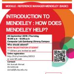 Introduction to Mendeley : how does Mendeley help?