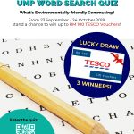 UMP WORD SEARCH QUIZ : Environmentally-friendly Commuting